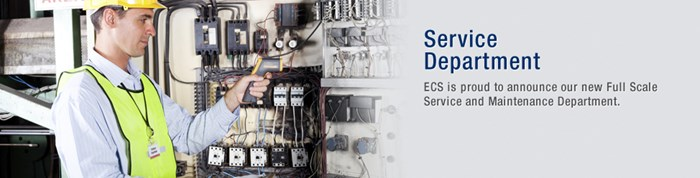 ECS declare new service department for full scale service & maintenance