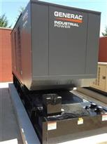 ECS provides motor generator sets for continous AC power