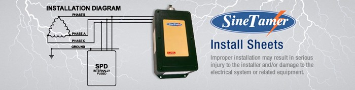 Install sheets for protection of electrical systems & equipment
