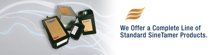 ECS offer complete range of standard SineTamer products