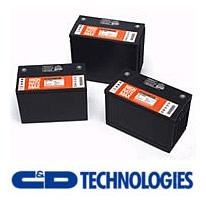 C & D TECHNOLOGIES Logo